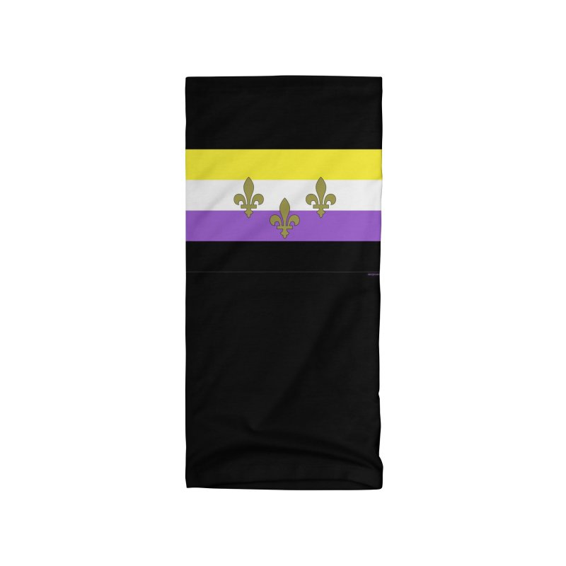 New Orleans City Pride Flag: NonBinary Accessories Neck Gaiter by campsnash of New Orleans