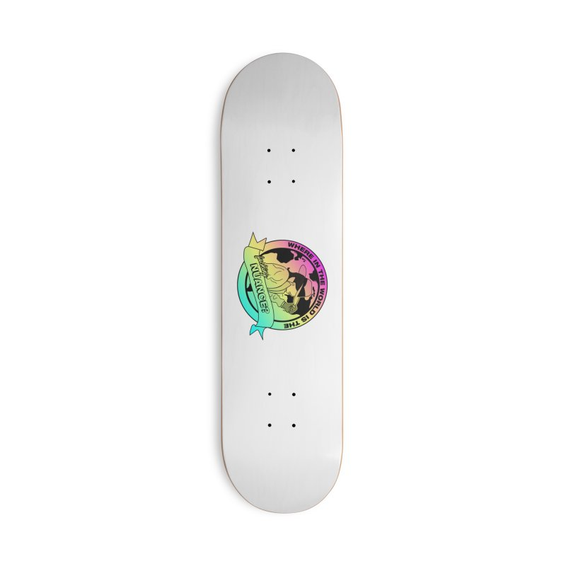 Where is the Nuance II Accessories Deck Only Skateboard by lil merch
