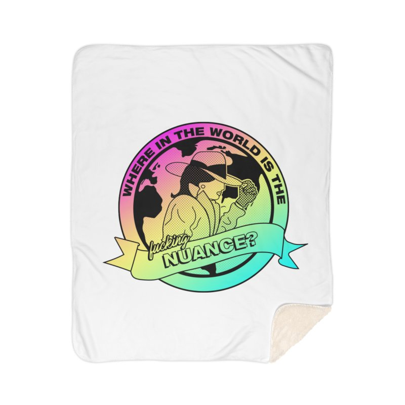 Where is the Nuance II Home Sherpa Blanket Blanket by lil merch