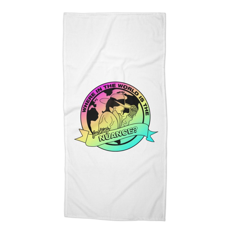 Where is the Nuance II Accessories Beach Towel by lil merch