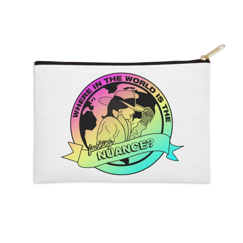Where is the Nuance II Accessories Zip Pouch by lil merch
