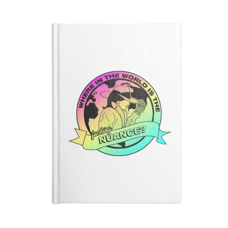 Where is the Nuance II Accessories Lined Journal Notebook by lil merch