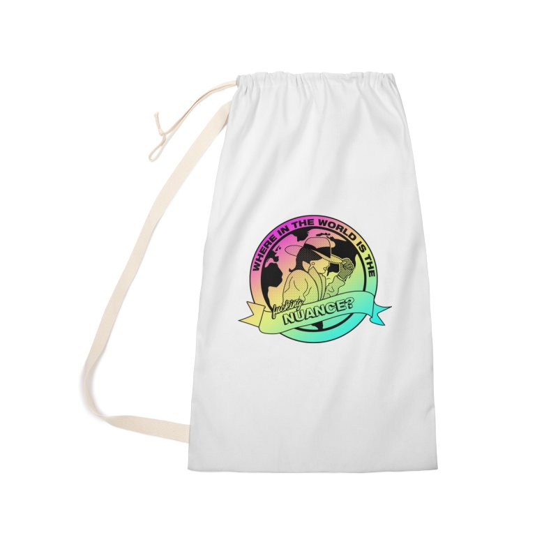 Where is the Nuance II Accessories Laundry Bag Bag by lil merch