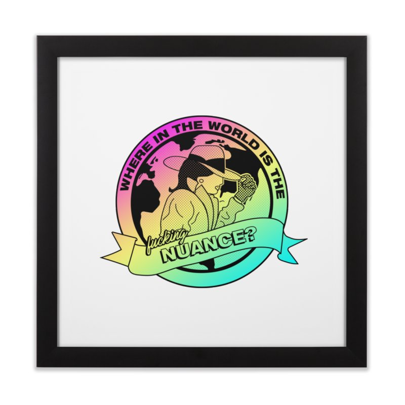 Where is the Nuance II Home Framed Fine Art Print by lil merch