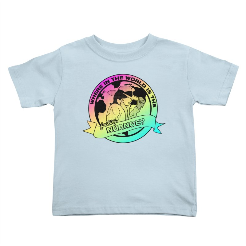 Where is the Nuance II Kids Toddler T-Shirt by lil merch
