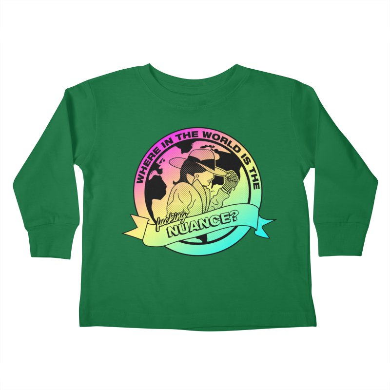 Where is the Nuance II Kids Toddler Longsleeve T-Shirt by lil merch