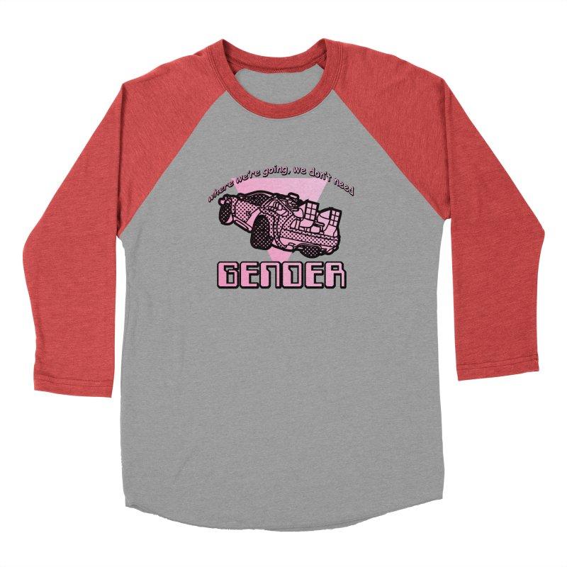 No Gender Delorean (Pink) Men's Longsleeve T-Shirt by lil merch