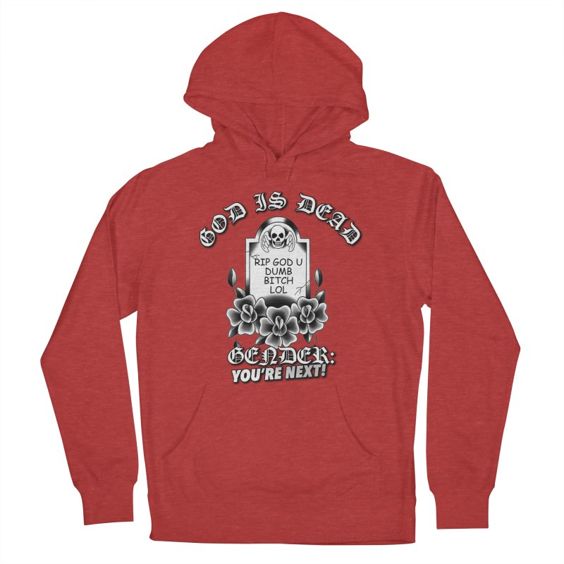 Gender You're Next! (BW) Men's French Terry Pullover Hoody by lil merch