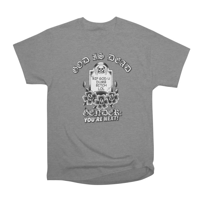 Gender You're Next! (BW) Women's Heavyweight Unisex T-Shirt by lil merch