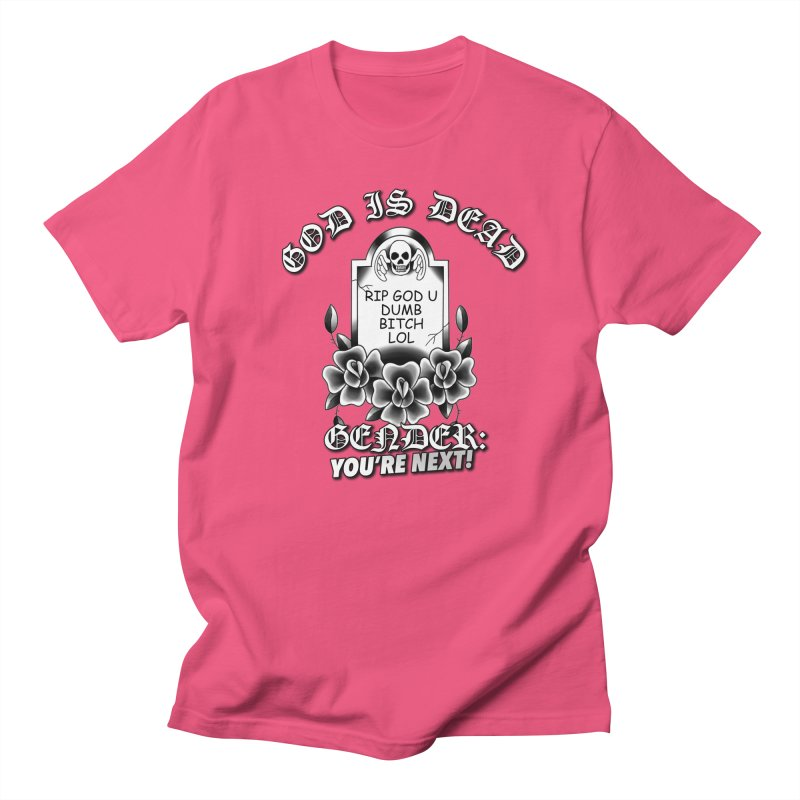 Gender You're Next! (BW) Men's T-Shirt by lil merch