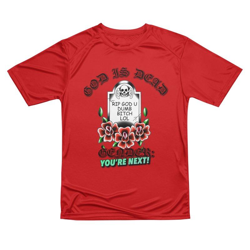 Gender You're Next! (Color) Men's Performance T-Shirt by lil merch