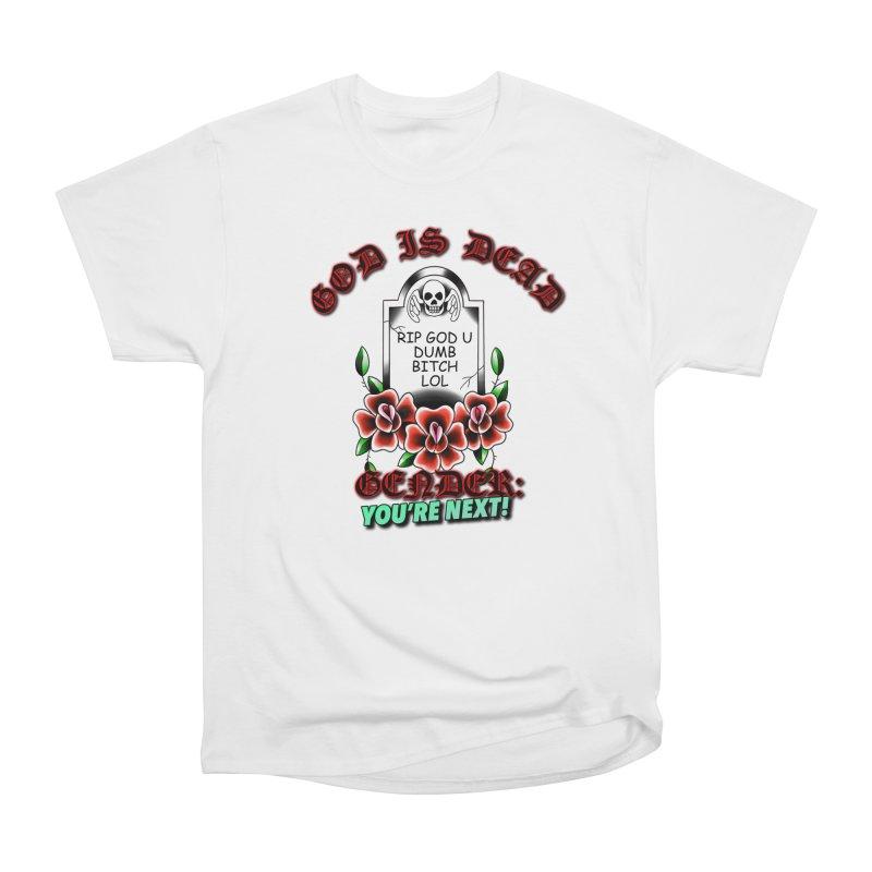 Gender You're Next! (Color) Women's Heavyweight Unisex T-Shirt by lil merch