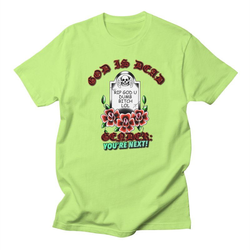 Gender You're Next! (Color) Men's Regular T-Shirt by lil merch