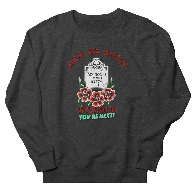 Gender You're Next! (Color) Men's French Terry Sweatshirt by lil merch