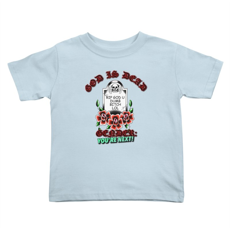 Gender You're Next! (Color) Kids Toddler T-Shirt by lil merch