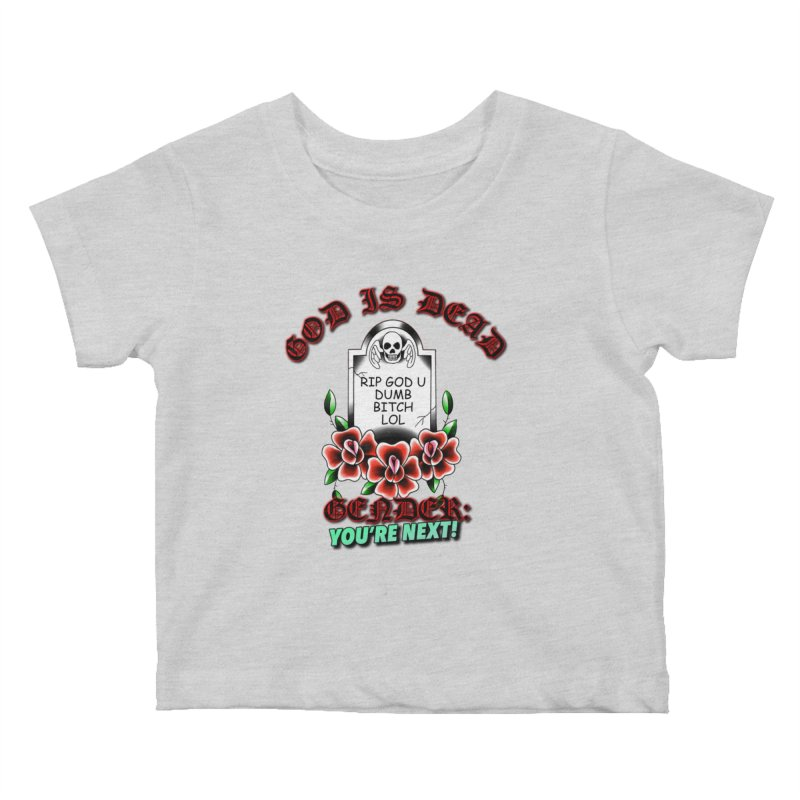 Gender You're Next! (Color) Kids Baby T-Shirt by lil merch