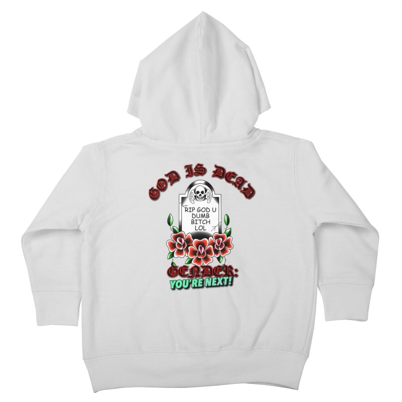 Gender You're Next! (Color) Kids Toddler Zip-Up Hoody by lil merch