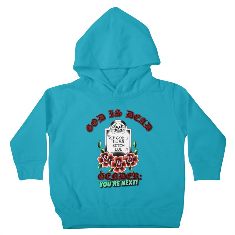 Gender You're Next! (Color) Kids Toddler Pullover Hoody by lil merch