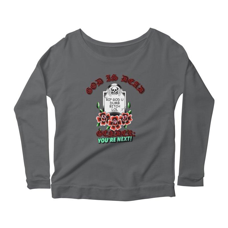 Gender You're Next! (Color) Women's Scoop Neck Longsleeve T-Shirt by lil merch