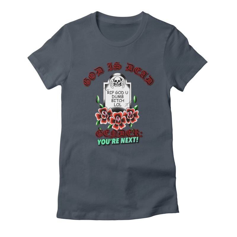 Gender You're Next! (Color) Women's T-Shirt by lil merch