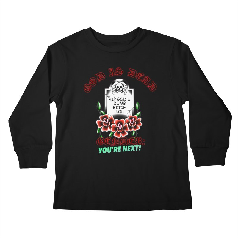 Gender You're Next! (Color) Kids Longsleeve T-Shirt by lil merch