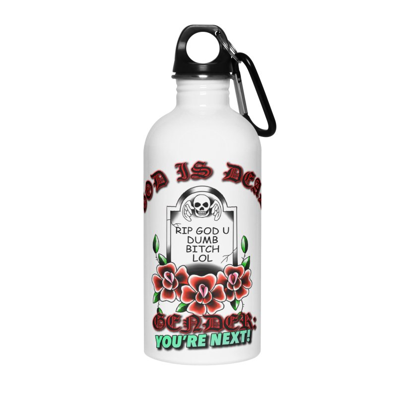 Gender You're Next! (Color) Accessories Water Bottle by lil merch