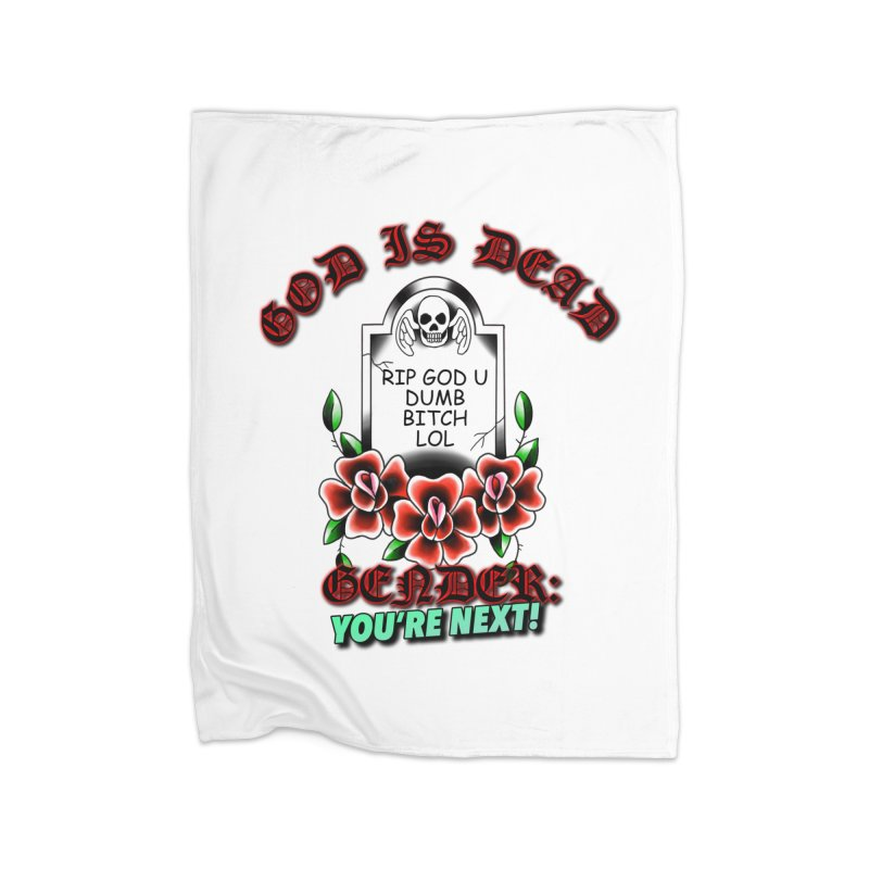 Gender You're Next! (Color) Home Fleece Blanket Blanket by lil merch
