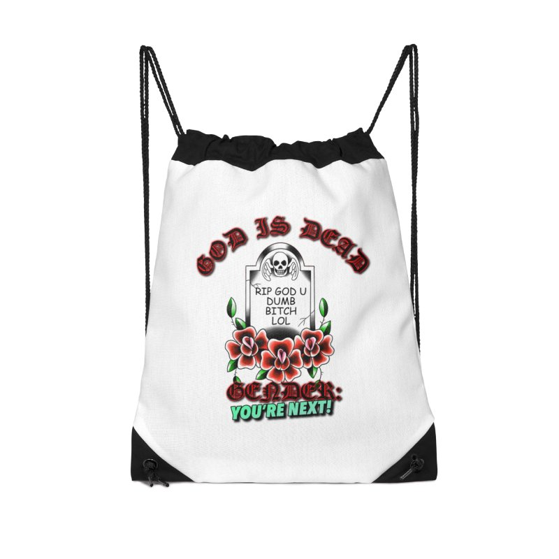 Gender You're Next! (Color) Accessories Drawstring Bag Bag by lil merch