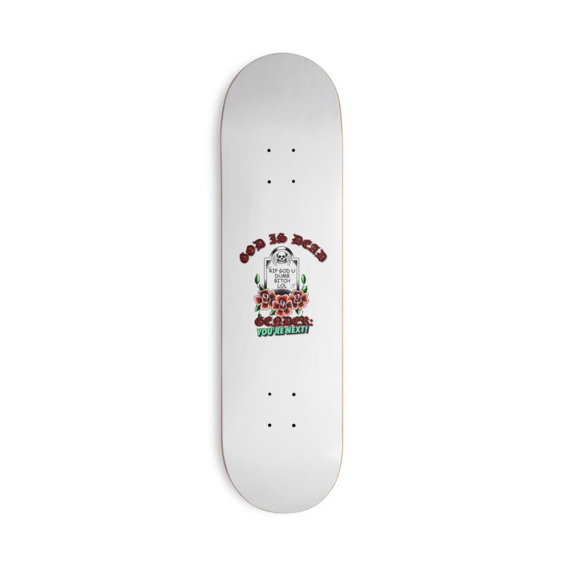 Gender You're Next! (Color) Accessories Deck Only Skateboard by lil merch