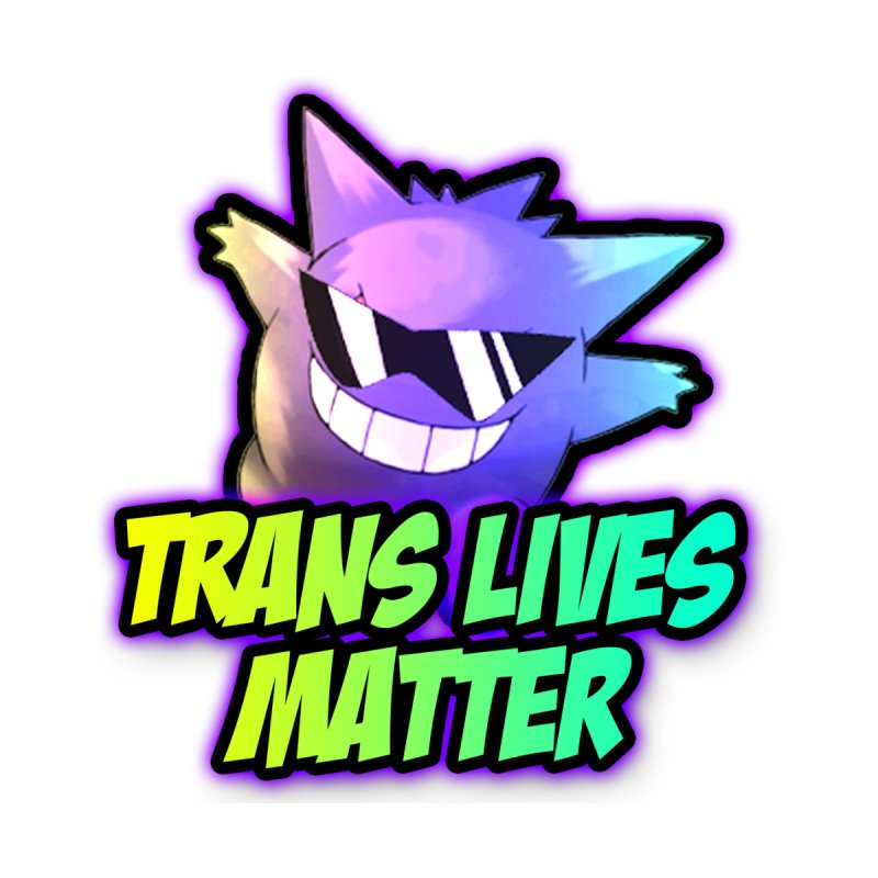TRANS LIVES MATTER Men's T-Shirt by lil merch