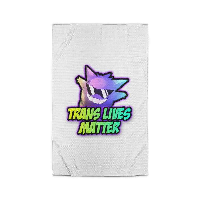 TRANS LIVES MATTER Home Rug by lil merch