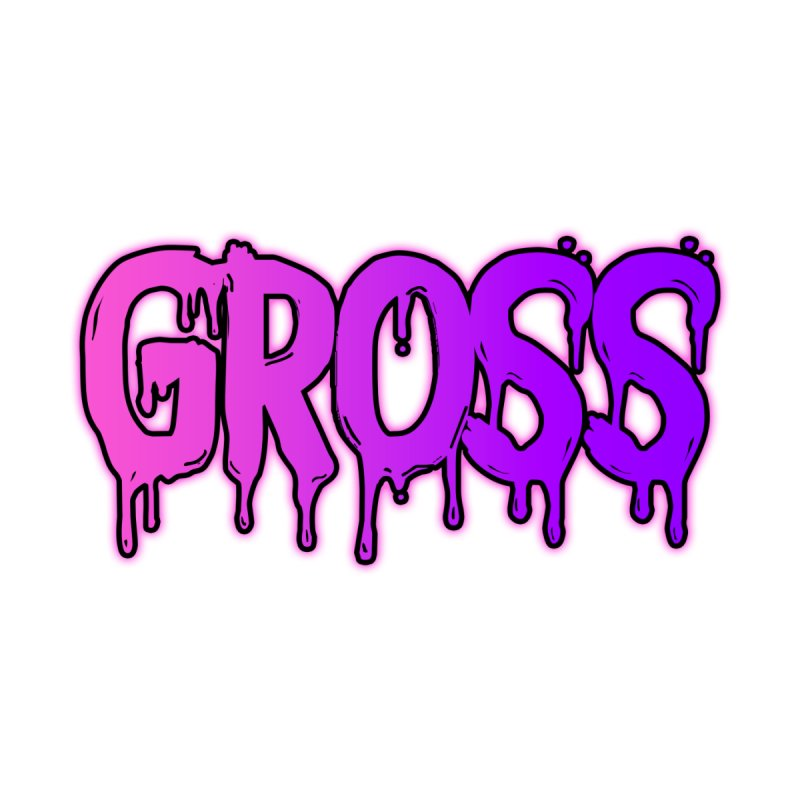 GROSS #2 Home Fine Art Print by lil merch