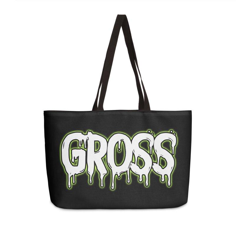 GROSS #3 Accessories Weekender Bag Bag by lil merch