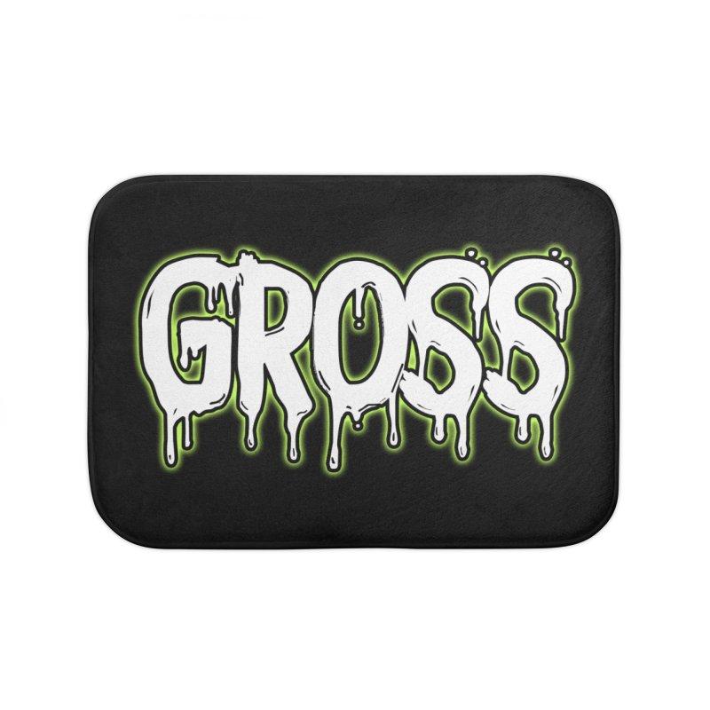 GROSS #3 Home Bath Mat by lil merch