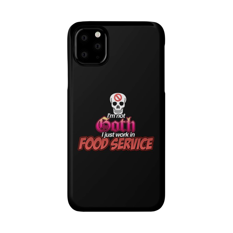 NOT GOTH (SORRY) Accessories Phone Case by lil merch
