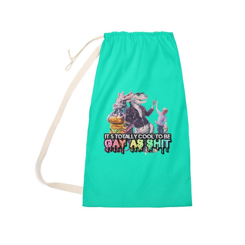 GAY-OK Accessories Laundry Bag Bag by lil merch