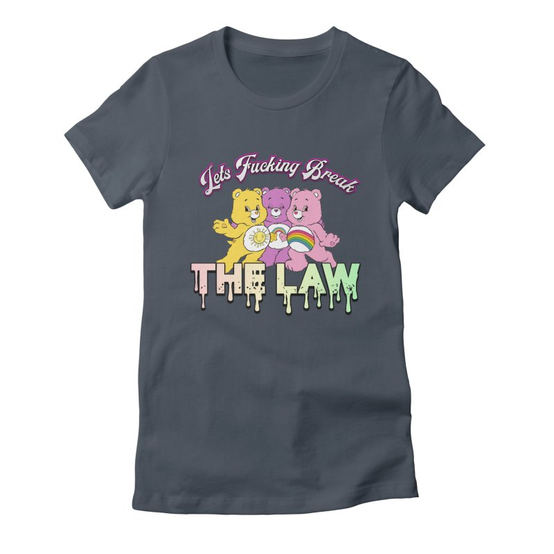 BREAK THE LAW Women's T-Shirt by lil merch