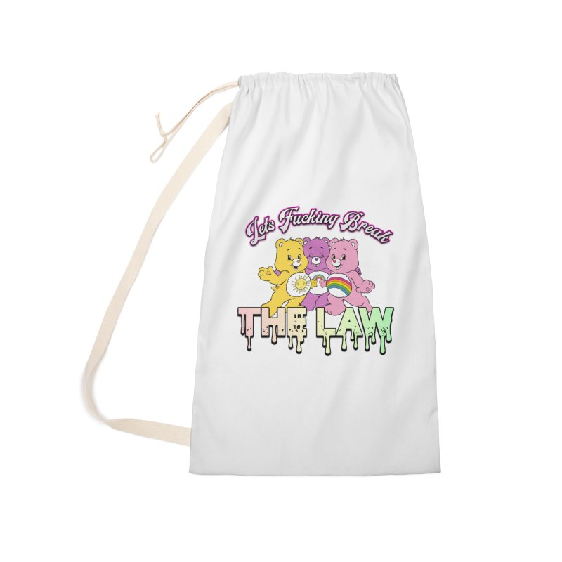 BREAK THE LAW Accessories Laundry Bag Bag by lil merch