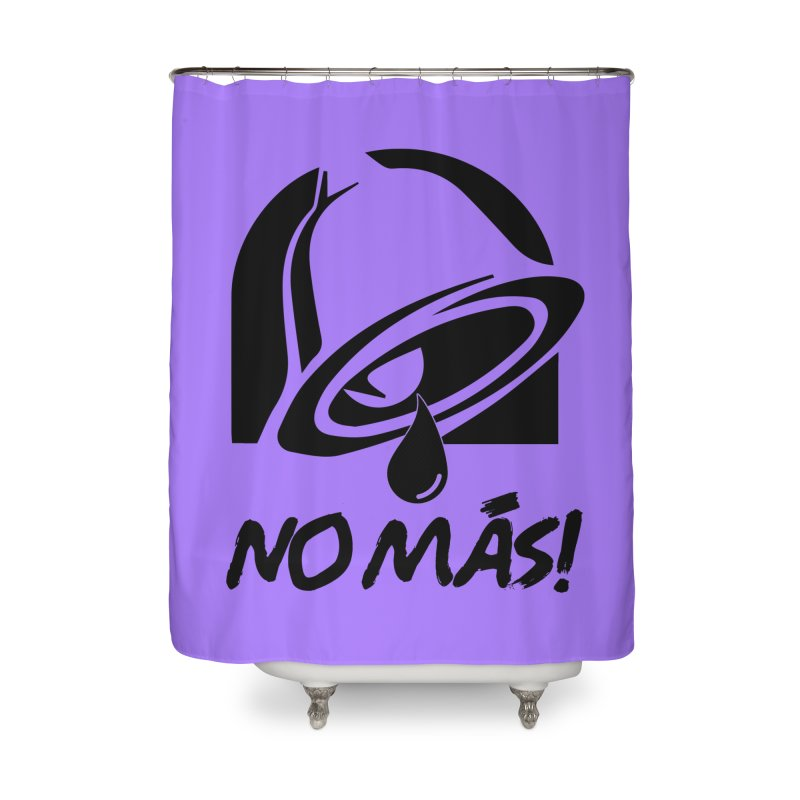 TACO HELL Home Shower Curtain by lil merch