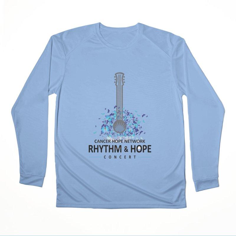 Rhythm & Hope Women's Performance Unisex Longsleeve T-Shirt by Shop Hope