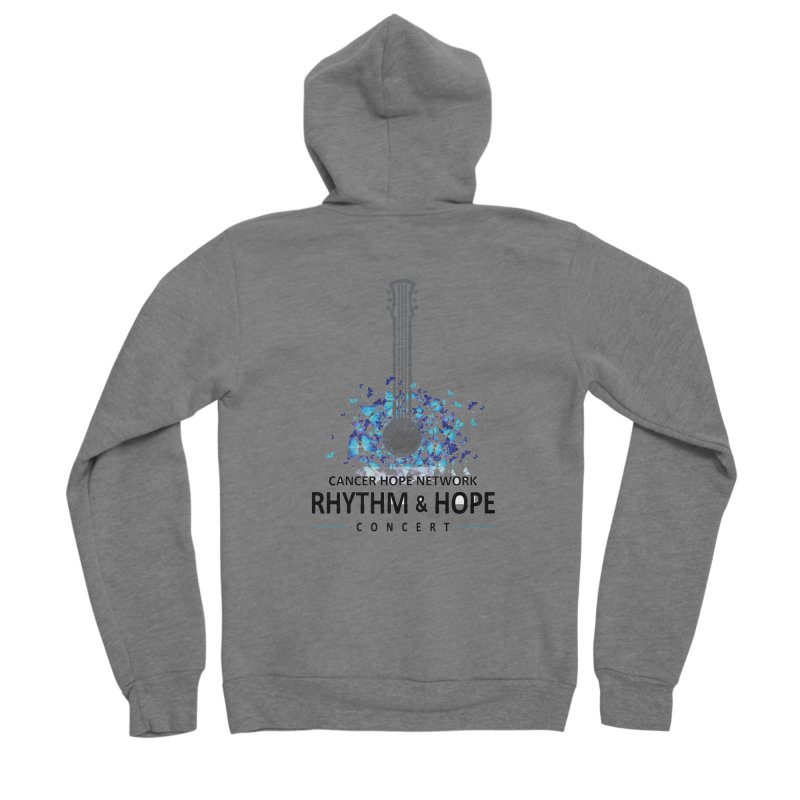 Rhythm & Hope Men's Sponge Fleece Zip-Up Hoody by Shop Hope
