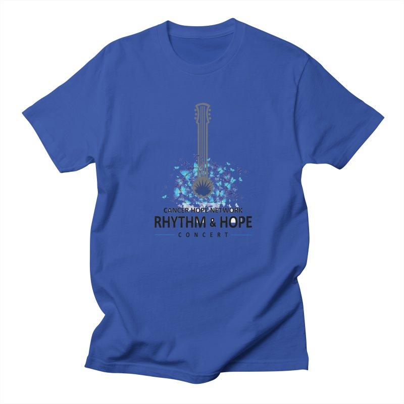 Rhythm & Hope Women's Regular Unisex T-Shirt by Shop Hope