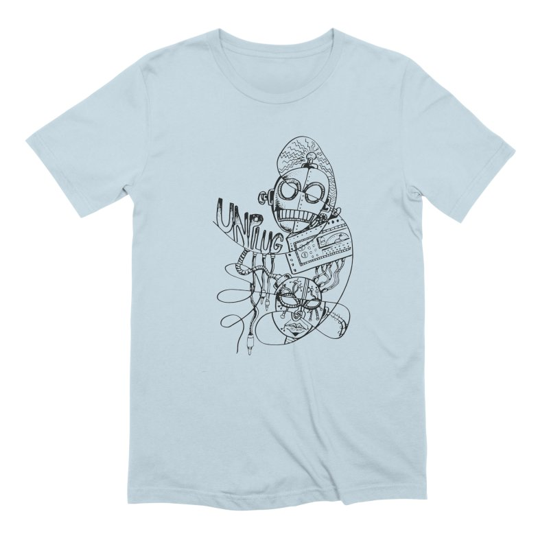 Unplugged Men's T-Shirt by Cancer Owl Store