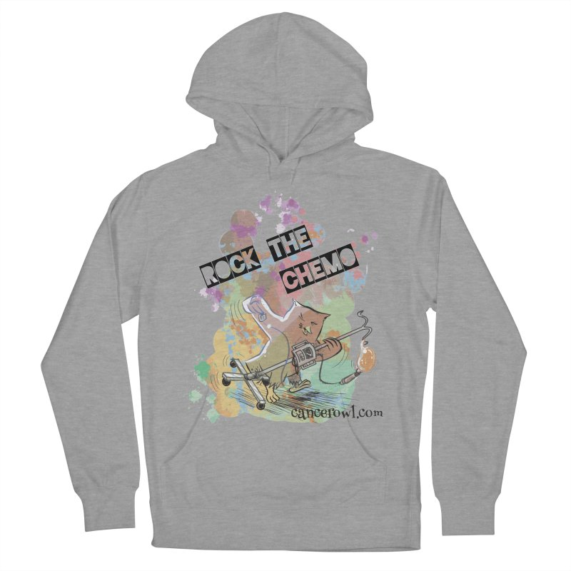 Rock the Chemo Men's Pullover Hoody by cancerowl's Artist Shop