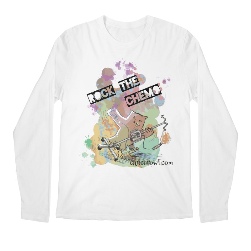 Rock the Chemo Men's Longsleeve T-Shirt by cancerowl's Artist Shop