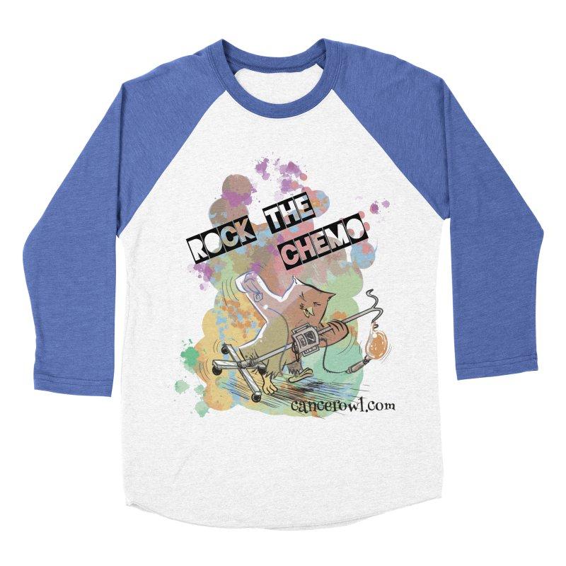Rock the Chemo Women's Baseball Triblend Longsleeve T-Shirt by cancerowl's Artist Shop