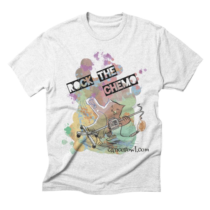 Rock the Chemo Men's Triblend T-shirt by cancerowl's Artist Shop