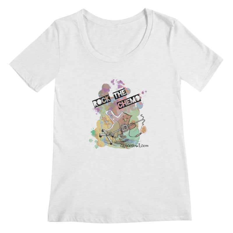 Rock the Chemo Women's Regular Scoop Neck by Cancer Owl Store