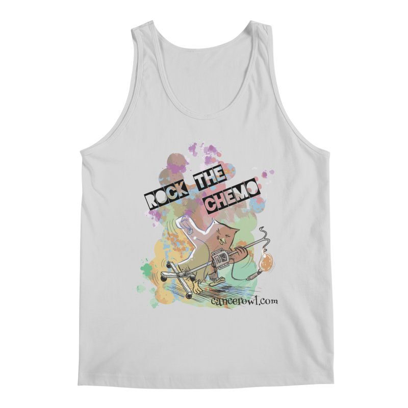 Rock the Chemo Men's Regular Tank by Cancer Owl Store