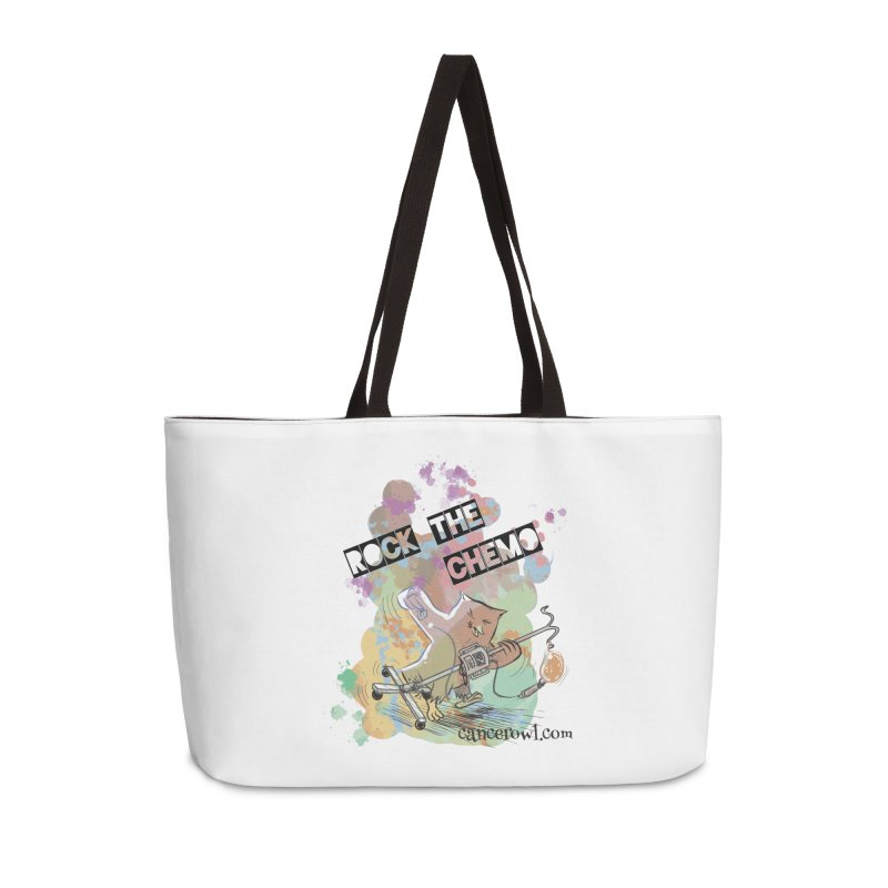 Rock the Chemo Accessories Weekender Bag Bag by Cancer Owl Store